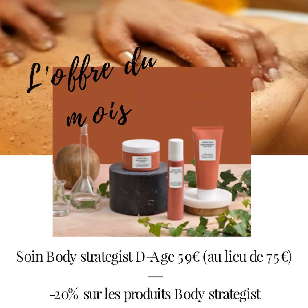 Offre Soin Body Strategist Les Rituels de Gabrielle